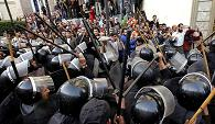 Five killed, 22 wounded in Egypt fresh protest