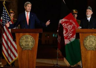Kerry fails to seal security deal with Karzai