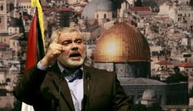 Haniyeh blasts Judaization of al-Quds, al-Aqsa Mosque