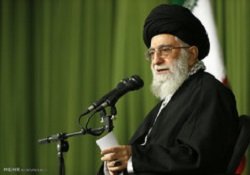 قائد الثورة الاسلامية يؤكد على أهمية الحفاظ على البيئة