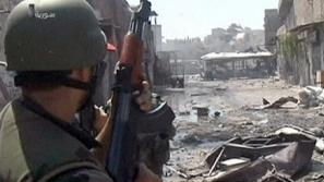 الجيش السوري يبسط سيطرته على قرية ابو حارات  في ريف السويداء