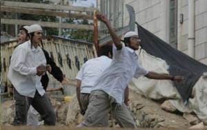 رشق سيارات القنصلية الأمريكية بالحجارة في القدس المحتلة
