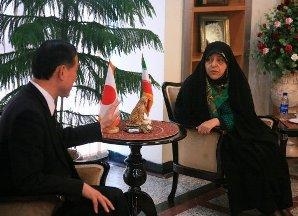 اليابان تعلن استعدادها للتعاون مع ايران في مجال البيئة