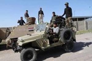 القوات العراقية تطوق ناحية العلم شرق تكريت من جميع الجهات