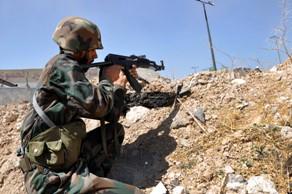 اشتباكات عنيفة بين الجيش السوري والمسلحين الارهابيين في ريف القنيطرة