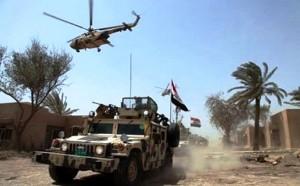 القوات العراقية تبدأ عملية عسكرية واسعة لتحرير مركز الكرمة شرق الفلوجة