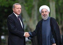 روحاني يستقبل الرئيس التركي