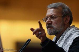 لاريجاني : الاعتماد على الغرب  لارساء الامن في المنطقة يمس باستقلال الدول