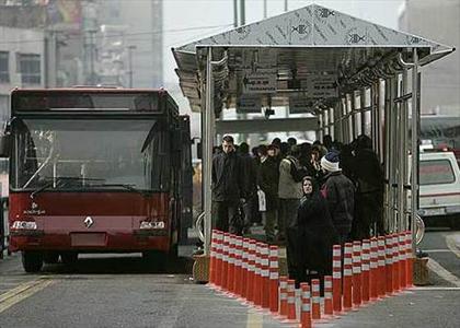 مناسب سازی ایستگاه های اتوبوس در حال انجام است