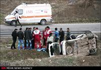 سانحه جاده ای در محلات یک کشته و ۳ مصدوم برجای گذاشت