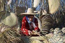 دعوت از استادان چینی برای آموزش حصیربافی به هنرمندان ایرانی