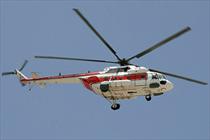 بالگرد امداد هوایی هلال احمر خراسان جنوبی رونمایی شد