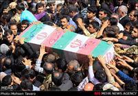 دو شهید گمنام در دانشگاه آزاد اسلامی قزوین آرام گرفت