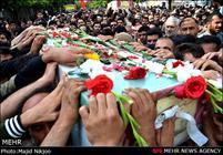 تشییع پیکر شهدای گمنام هشت سال دفاع مقدس در مازندران
