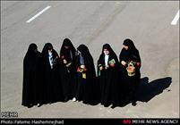 تشییع شهدای گمنام هشت سال دفاع مقدس در زنجان