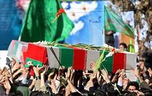 دو شهید گمنام هشت سال دفاع مقدس تشییع و خاکسپاری شدند