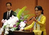 """زعيمة ميانمار تخرج عن صمتها وتعرب عن """"قلقها"""" على الروهينغا"""