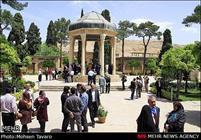 حضور جمعی از سفرا در شیراز