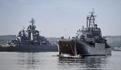 موسكو: السفن الروسية في سوريا خط دفاعي في مواجهة الإرهاب