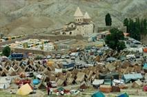 ۵۰۰۰ نفر از ارامنه جهان در آیین مذهبی قره کلیسا شرکت می کنند