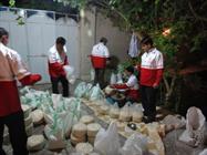 ۴ هزار بسته غذایی در قالب طرح همای رحمت در یزد توزیع شد