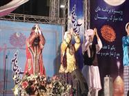 """هنرنمایی گروه ناشنوایان """"آوای دستان"""" در بر آستان جانان"""