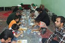 اطعام 5000 نفری نیازمندان سقزی/کمیته امداد نهادی خدمت رسان و خدمتگذار است