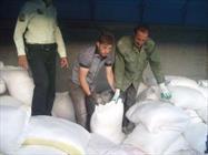 ۱۵ تن شکر قاچاق در تفت کشف شد