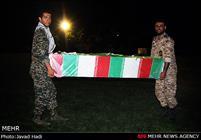 تشییع و خاکسپاری پیکر مطهر دو شهید گمنام در شهرستان رباط کریم