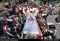 مراسم تشییع و خاکسپاری شهید گمنام