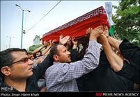 تشییع شهید گمنام در همدان