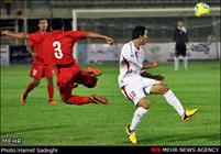 دیدار تیمهای فوتبال ایران و تاجیکستان