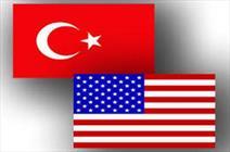 پرچم ترکیه و آمریکا
