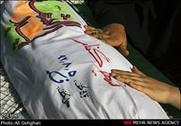 عاشورای حسینی و تشییع شهید در فکه