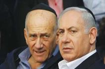 Olmert urges psychiatric test for Netanyahu family