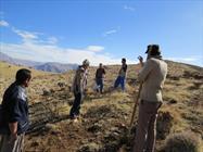 پروژه بذرکاری در ۸۵۰ هکتار از مراتع سیاهکوه ورامین به اتمام رسید