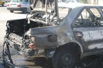 ۴ نفر بر اثر آتش گرفتن پراید در شوشتر زنده سوختند