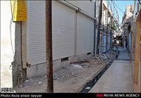 اجرای عملیات اصلاح و بهسازی معابر نقاط حاشیه نشین شهر اراک