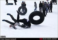 مصدومیت ۷۰ نفر در پیست اسکی سپیدان