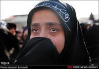 تشییع پیکر پنج شهید گمنام در تهران-3