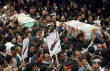 مازندران عطر عاشورایی گرفت/ تشییع لاله های گمنام در ساری