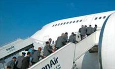 آغاز اعزام ۳۷۰۰ زائر استان فارس از فرودگاه شیراز به جده