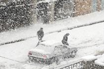 بارش کم سابقه برف در مناطق گرمسیری کهگیلویه و بویراحمد