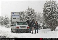 میزان بارش برف در نورآباد به 40 سانتی متر رسید