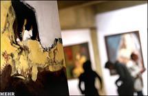 نمایش 600 اثر نقاشی در فرهنگسرای آئینه/ هنرمند اراکی: دنیای هنر بدون صفا و صداقت، تو را جا میگذارد