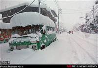 روستاهای سراب در محاصره کامل برف/ تلاش امدادگران ادامه دارد