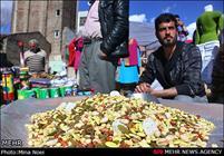 محل جدید دستفروشان بازار صفا خرمشهر آماده است