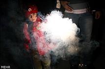 مصدومیت ۲ کودک در کرمانشاه با مواد محترقه