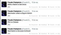 تبانی در قرعه کشی مرحله یکچهارم نهایی لیگ قهرمانان فوتبال اروپا