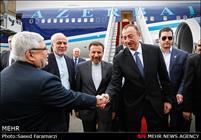 ورود رییس جمهور آذربایجان به کشور